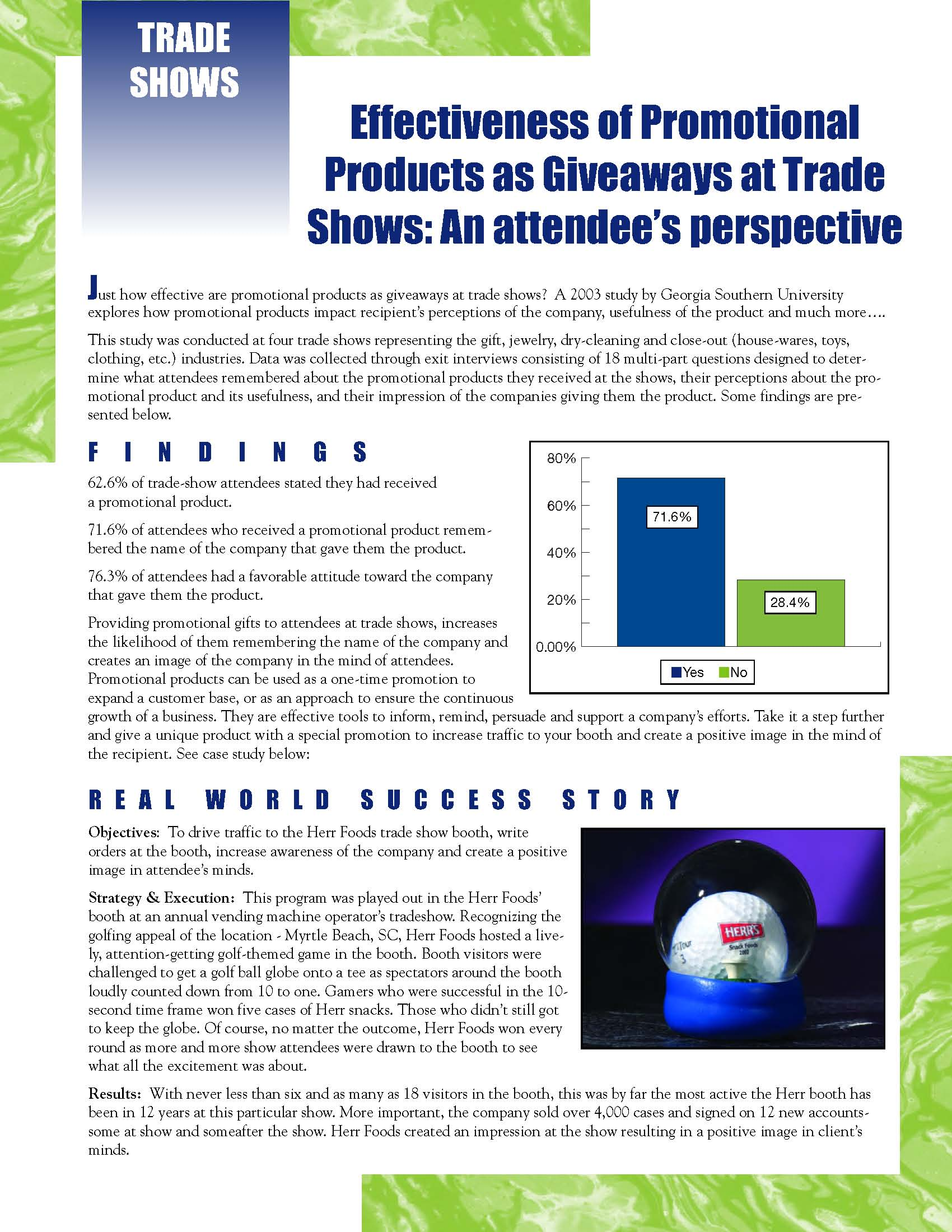 <b>Tradeshow Giveaways: Effective?<b>
