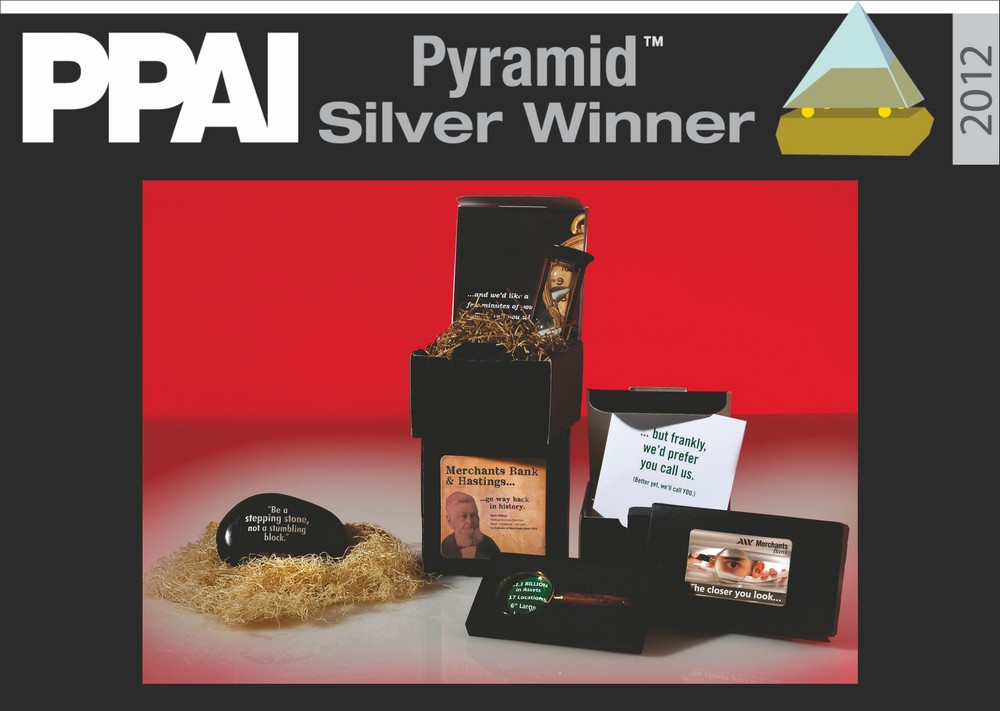 ID Marketing Awarded Silver Pyramid