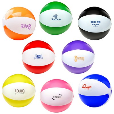 "16"" Two Tone Beach Ball"