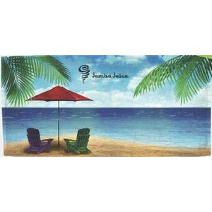 Xpress Towels Water's Edge Stock Design Beach Towel