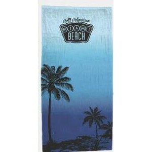 Xpress Towels Breezy Palms Stock Design Beach Towel